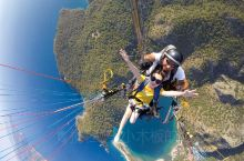 土耳其必体验 | 上帝视角看绝美海岸线  来土耳其旅行,不可错过的项目除了热气球就是滑翔伞,费特希耶