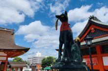 大阪一小时旅游圈- 京都-稻荷神社  交通攻略:从京都车站打车到各个景点基本都在2000日元以内,时