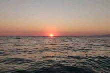 爱琴海日落。是我见过最美的日落没有之一。