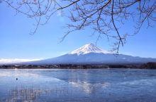 日本的富士山,一定要冬天去,春天去可以看到樱花,但是看不到白雪覆盖的富士山。