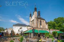 捷克 人骨教堂 (Kostelík Vech savtych a kostnicí),位于布拉格以东