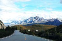 国道317,德格→甘孜县段路边风景。