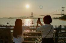 """""""余辉""""下的虎门大桥——美的让人—难以置信"""