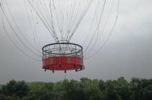 氦气球升空