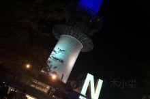 浪漫的首尔塔,穿上韩服穿越时空,哈哈哈,非常愉快的体验