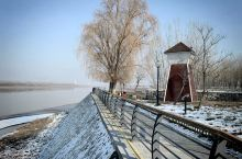 高青·淄博 今年冬天去淄博访友,再次去安澜湾感受一下她那冬天的景色,虽没有春天的盎然、夏季的茂盛、秋