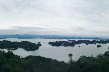 杭州千岛湖,美景如画,湖水清清,某水水源地,有点甜。