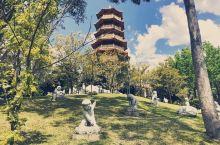 南天寺  里面的塔,这里风景独好