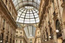 意大利旅行第二站米兰—埃马努埃莱二世长廊