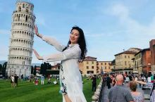 来自2018年的库存,比萨斜塔位于意大利的比萨市中的奇迹广场奇迹广场内有比萨斜塔,比萨洗礼堂,比萨主