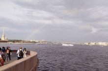 涅瓦河彩虹