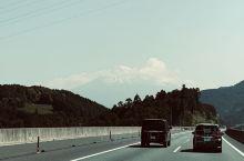 近距离拍到富士山