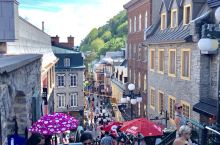 魁北克 童话般的城市 充满了法国的浪漫气息 .......... 去探寻了韩剧鬼怪的拍摄场地 这儿物