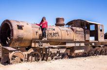 在火车公墓感受末日景象 #新年旅拍大赛#