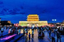 晚上看了武威市南城楼夜景,通体金碧辉煌,大气磅礴,符合凉州人的气质。明朝初期,凉州修建了4大城门和2