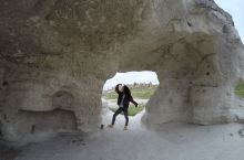 格雷梅的露天博物馆也是属于必须打卡的地方之一,参观的人还不少。聚集了各种神奇的地貌不说,还有好多石窟