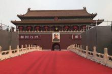 北京天安门广场,共和国70周年庆典活动在这里举行。