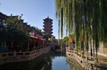 滦州古城的日间景