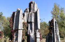 不一样的地质公园,以假乱真的榕树,破损的飞碟落在岩石上…