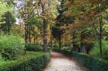 秋天的丽池公园