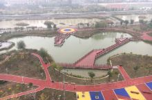 沋河风景,渭南老城,寇准故里,