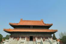 崇陵是光绪帝王陵,不错的地方世界文化遗产,位于河北易县清西陵
