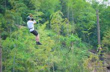 Discovery探索极限主题公园位于莫干山郡安里君澜度假区,该基地建有多项户外探险设施,包括攀岩墙