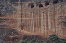 """不出国就能get""""科罗拉多""""峡谷同款照!超美峡谷! 一直在网上看到榆林波浪谷的照片,真的太美太好看啦"""