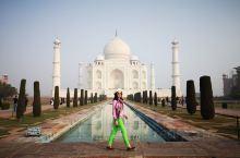 若没去过泰姬陵,应该不算到过印度。  天公作美,来到泰姬陵居然出太阳了。这让对前一晚大雾担心不已的我