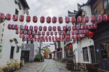 春节期间空空荡荡的文渊古城