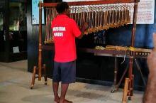 南太平洋岛国的竹编乐器,声音清悦,有点像我们的编钟,不是敲击而是弹拨。
