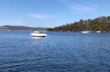 布鲁尼岛轮渡,海面上悠闲的小船,当地人在小船上喝酒,钓鱼,晒太阳,不负好时光!