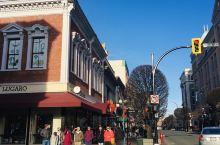 维多利亚港市中心的Government Street,英伦气息弥漫,优雅而复古。珠宝、礼品、书店、糖