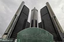 沿袭着曾经辉煌底特律历史的GM办公楼