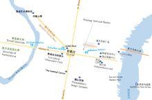 图1快速了解费城旅行概览—费城市区并不算大,街道横平竖直呈严格的棋盘分布,如果要快速了解市区景点分布