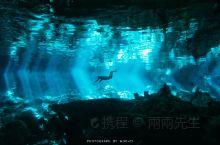 墨西哥洞穴潜水 墨西哥的洞穴是全世界洞穴潜水的圣地,每个发烧友都以到那里去潜水为梦想。Dos Ojo
