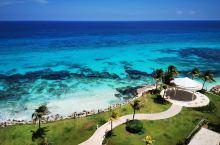 加勒比海的一抹蓝