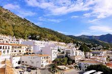 西班牙白色小镇米哈斯