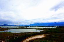 富川七彩虎头村,湿地 水库 风车林 连绵青山自为山水画幅。如今渔村华丽转身变得色彩斑斓,添上新精彩