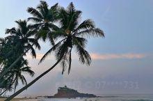 Mirissa早晨的沙滩