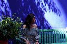伊芙.圣罗兰花园是马拉喀什的打卡景点。精致玲珑,珍奇植物遍布。除了妖艳的蓝色建筑,还有伊芙.圣罗兰和