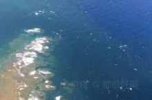 飞机上看宫古岛d