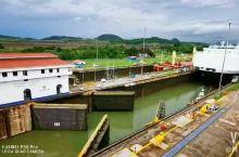 巴拿马运河船闸 大西洋和太平洋由此连接