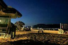 夜幕中的美溪海滩——醉人