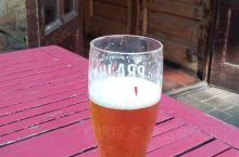 英国酒吧里的啤酒了,我已经点了度数最低的,但是也超级浓郁。罐装的好喝,哈哈。