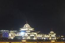 乌兰牧骑宫--2017年建成的向内蒙古自治区成立70周年献礼的一个建筑 宏伟壮观