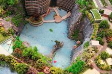 造价20亿,历时12年,百米深坑,快来体验一下被坑的感觉! 全球唯一在深坑里的酒店,也叫上海佘山世茂