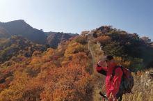 上周六,一行三人,驱车200多公里,来到河北省涞源县境内的乌龙沟乡柱角石村,稍事休息后开始徒步攀爬碾