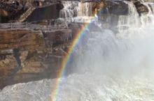 """【山西临汾壶口瀑布】是黄河上唯一的黄色大瀑布,也是中国的第二大瀑布,号称""""黄河奇观""""。以壶口瀑布为中"""