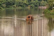 美丽的傣王宫,整个公园围绕着一个柳叶湖,有鹦鹉表演,大象表演,旁边就是总佛寺,环景非常不错,庭院绿化